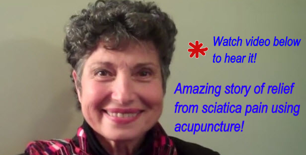 relief from sciatica pain using acupuncture