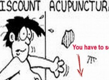 acupuncture on the cheap